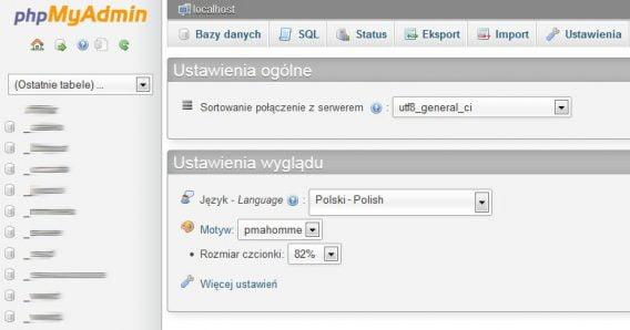 Proud Media - Instalacja menadżera bazy danych phpmyadmin Ubuntu/Debian
