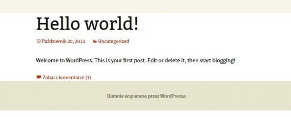 Proud Media - Szybka instalacja WordPress w LAMP Ubuntu/Debian