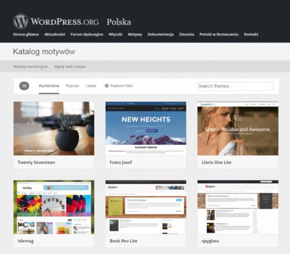 Proud Media - Darmowe szablony WordPress