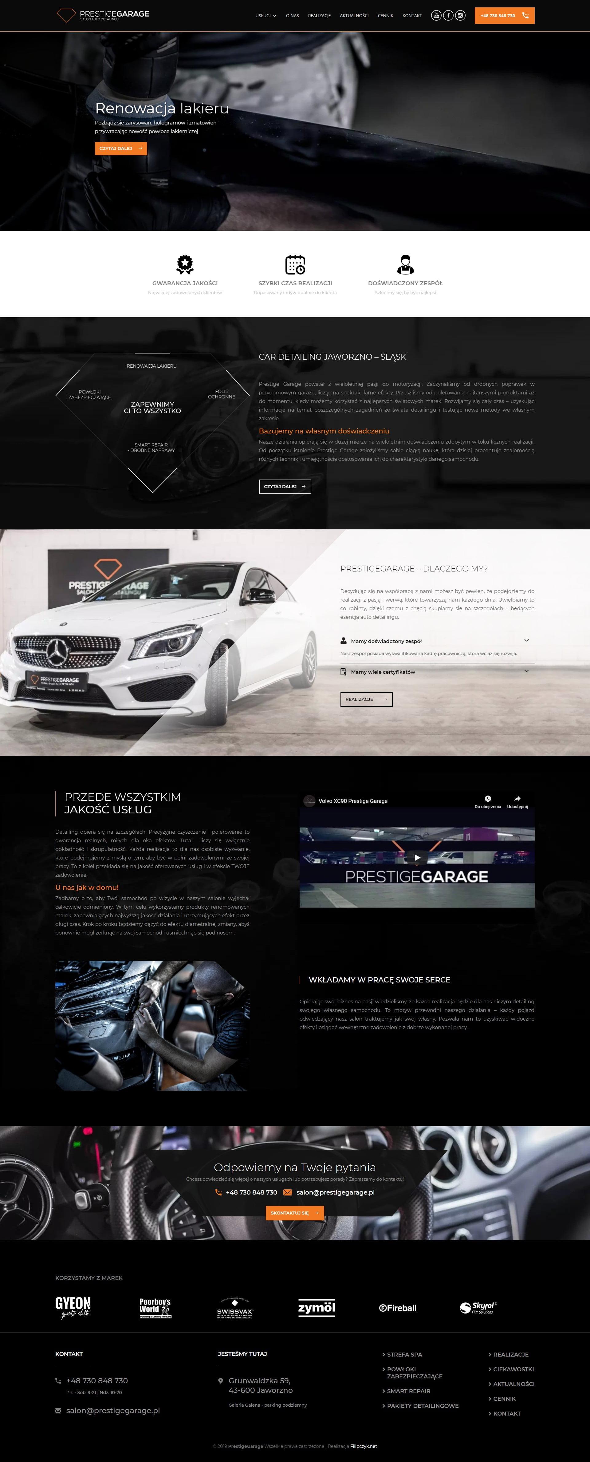 Realizacja - Prestige Garage