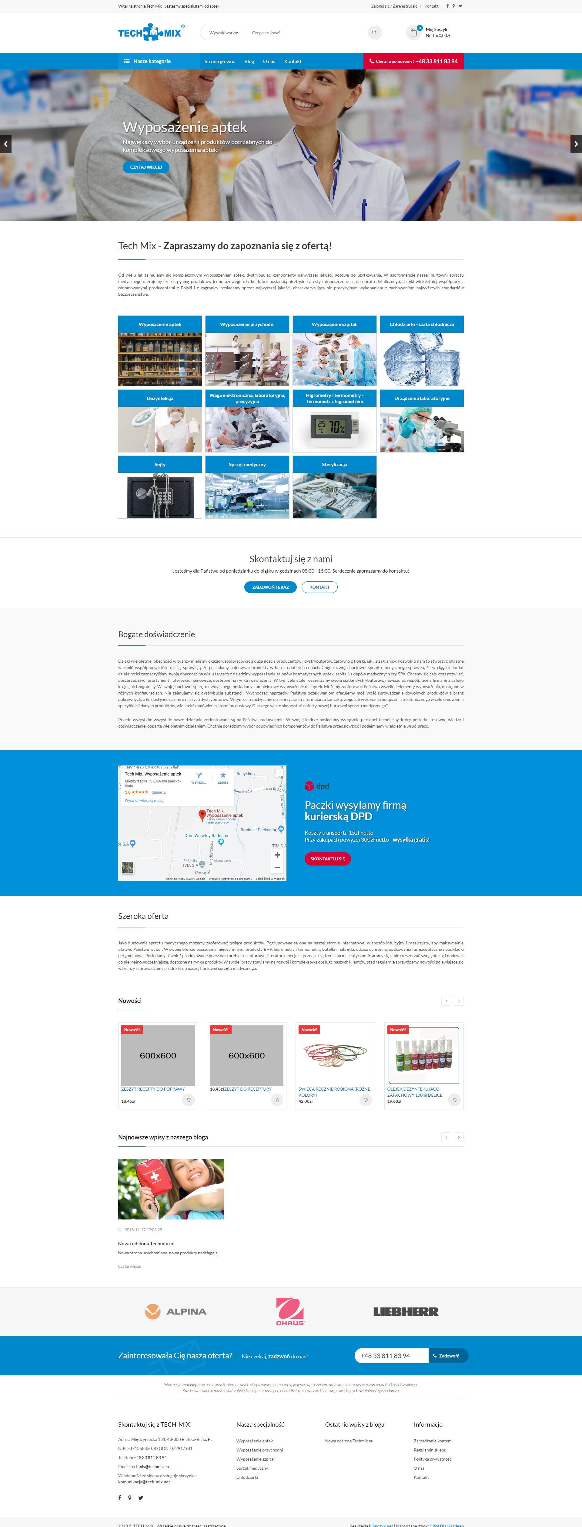 Realizacja - Techmix