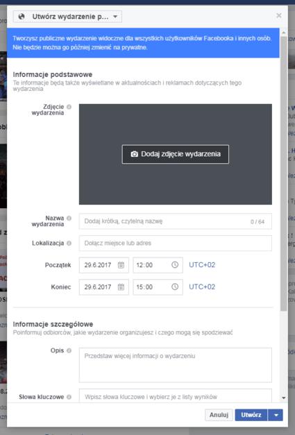 Jak zaprosić znajomych na wydarzenie facebook