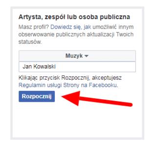 Jak stworzyć fanpage na facebooku
