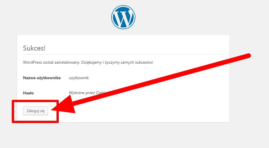 Instalacja WordPress
