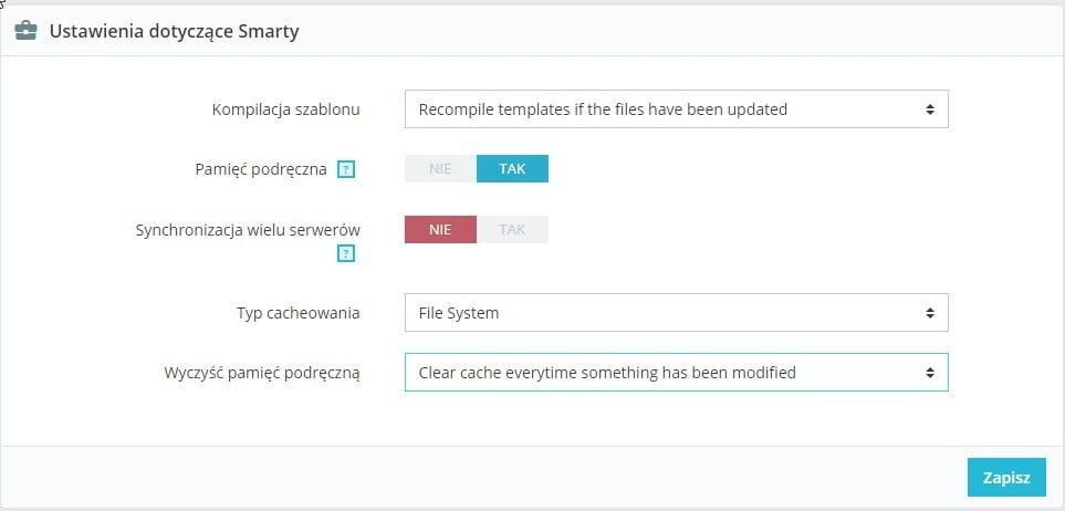 Optymalizacja PrestaShop