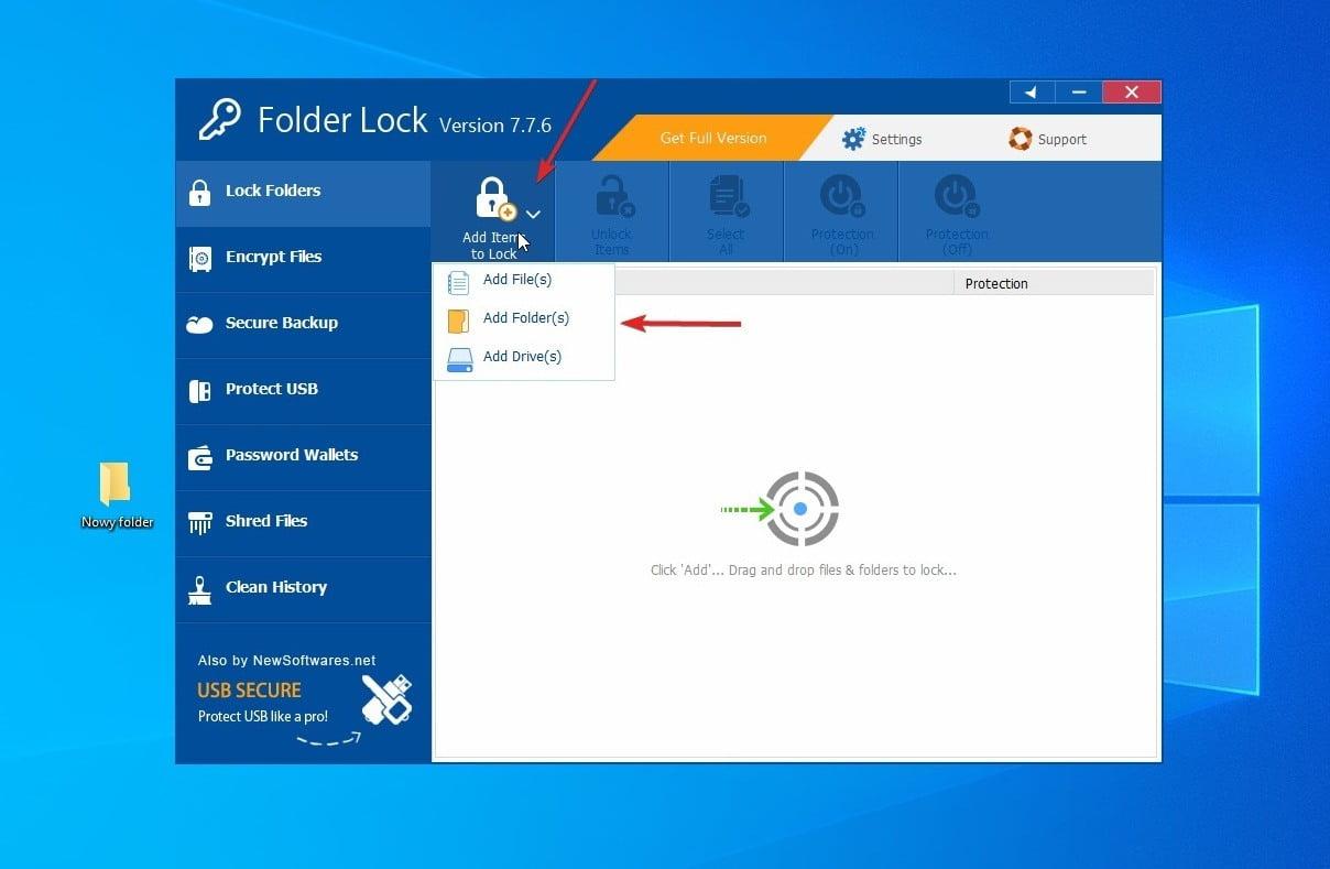 Jak zabezpieczyć folder hasłem
