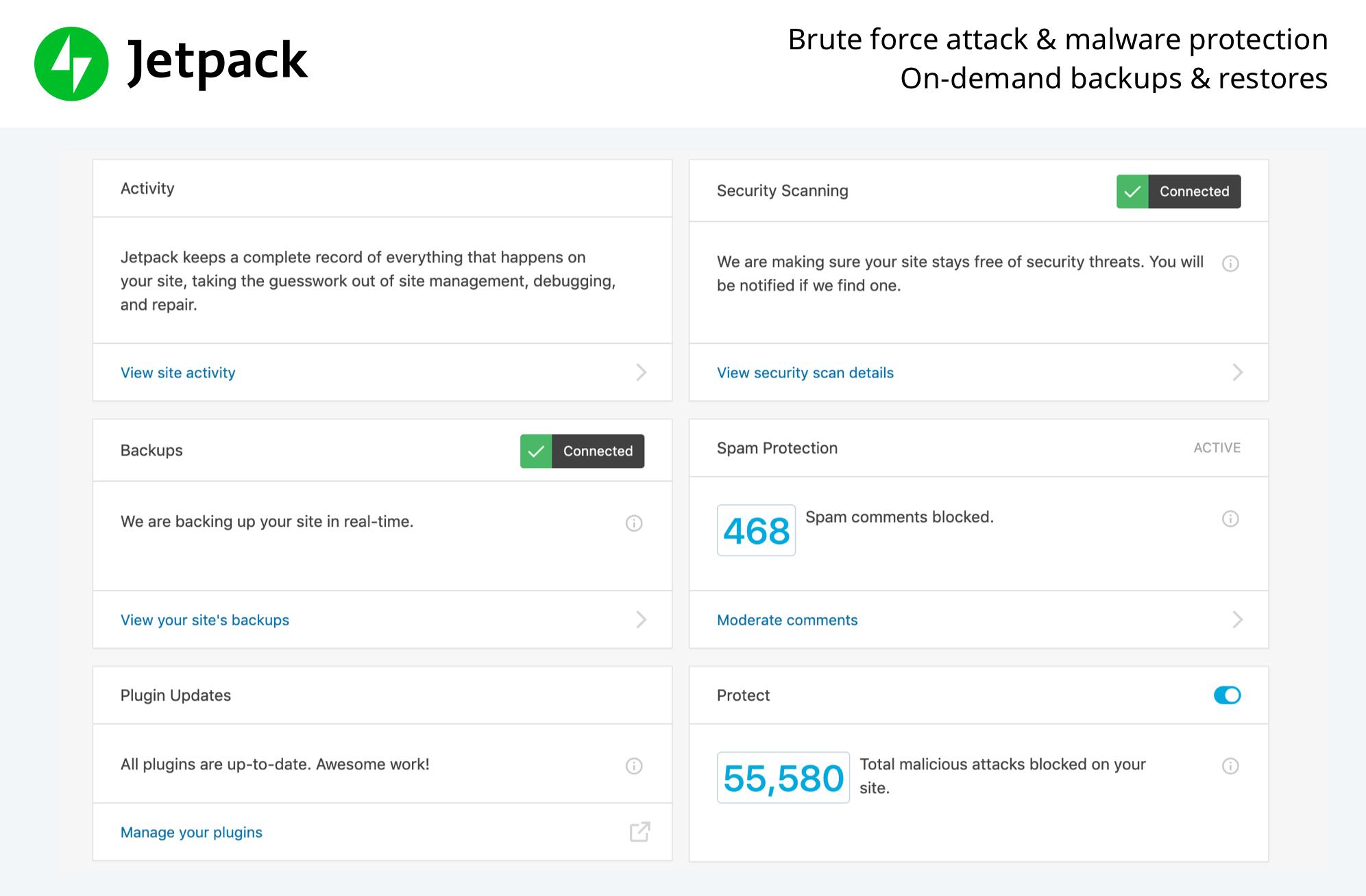 Jetpack - wtyczka WordPress
